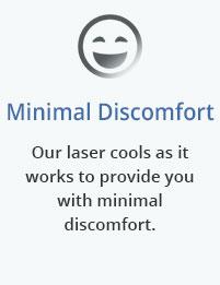 Minimal discomfort