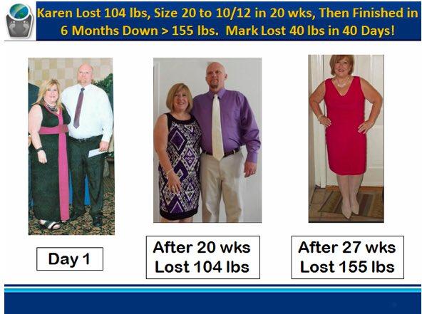 Karen & Mark Weight Loss