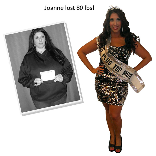 joanne lose 80 pounds