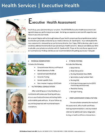 Executive Health & Fitness Specialist - First Hill Seattle