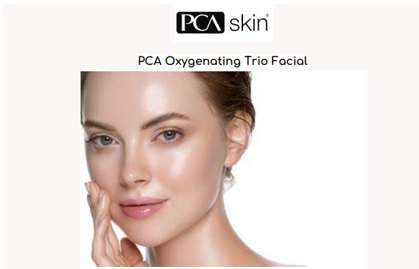 PCA Oxygenating Trio Facial