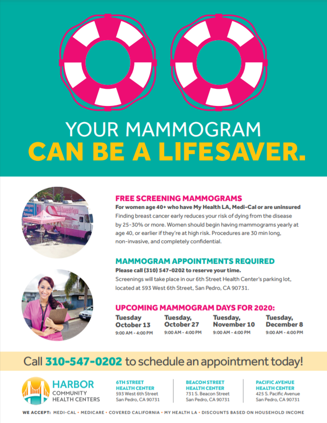 mammogram event