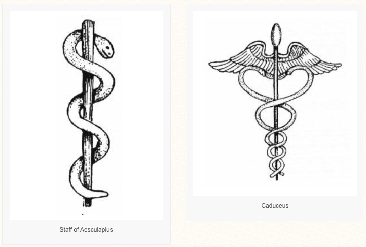 The Battle Of The Snakes Staff Of Aesculapius Vs Caduceus
