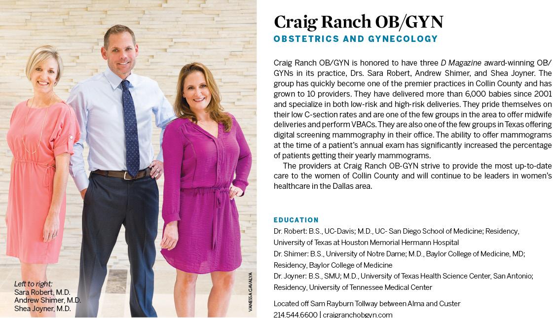Craig Ranch Ob/Gyn: OB/GYNs: McKinney, TX