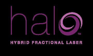 Halo Hybrid Fractional Laser