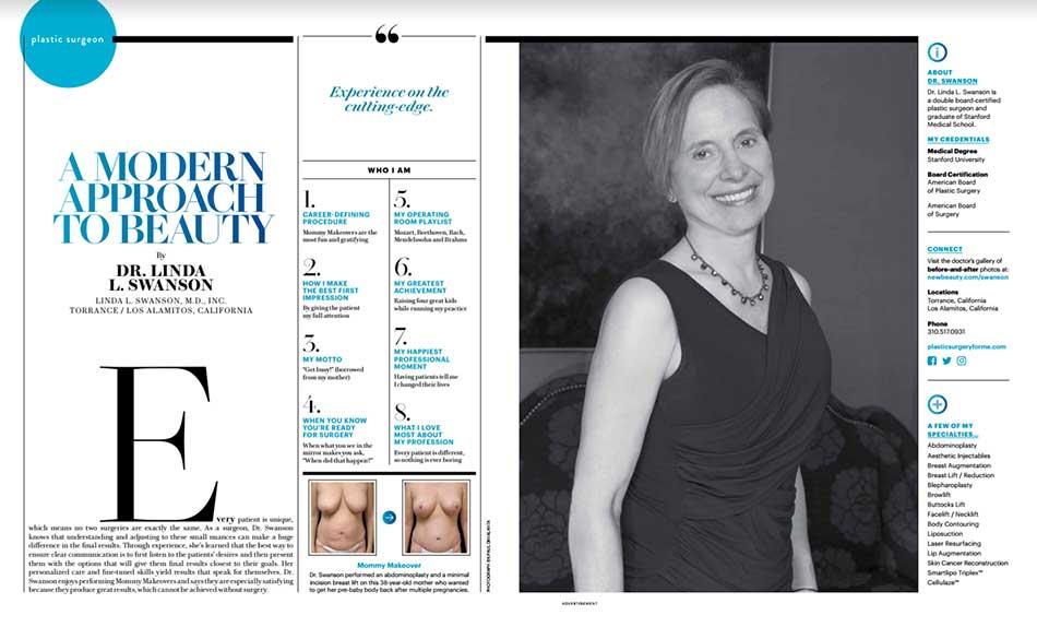 Linda Swanson, MD: Board Certified Plastic Surgeon Torrance
