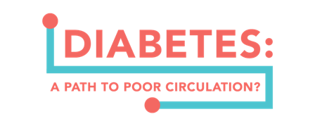 You have diabetes, even if it is well managed, you are at increased risk to develop vascular disease